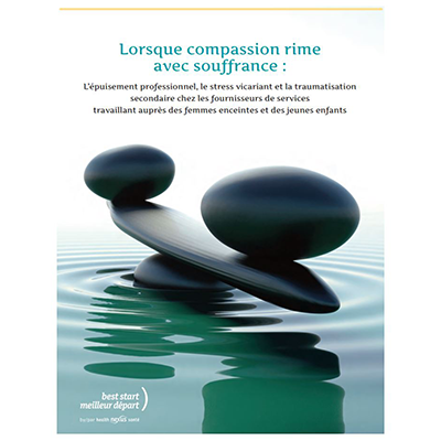 "Cover of the ""Lorsque compassion rime avec souffrance"" manual"