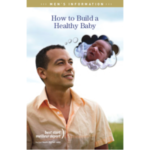 "Couverture du livret ""How to build a healthy baby"""