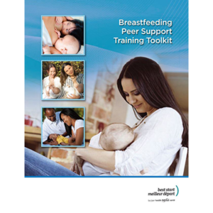"Couverture de la trousse ""Breastfeeding Peer-Support Toolkit"""