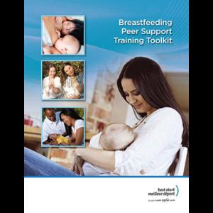 "Couverture de la trousse ""Breastfeeding Peer-Support Toolkit"""