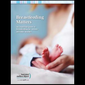 "Couverture du livre ""Breastfeeding matters"""