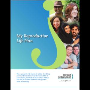 """Couverture du livret """"My Reproductive Life Plan"""""""