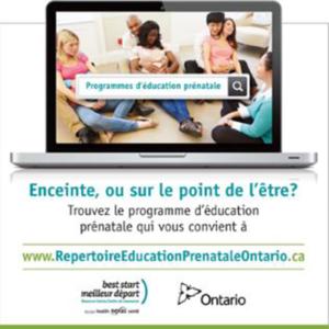 Aperçu de la bannière carrée pour le répertoire d'éducation prénatale