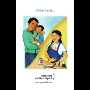 """Couverture du livret """"Bébé veut"""""""