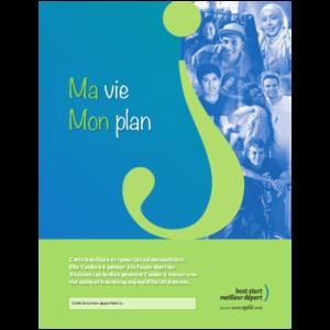 """Couverture du livret """"Ma Vie Mon Plan"""""""