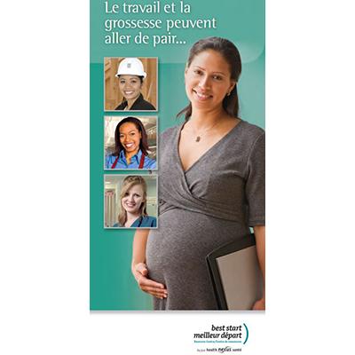 Couverture de la brochure sur le travail et la grossesse