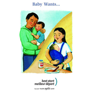 Cover of the baby wants booklet