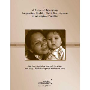 "Cover of the ""A Sense of Belonging"" manual"