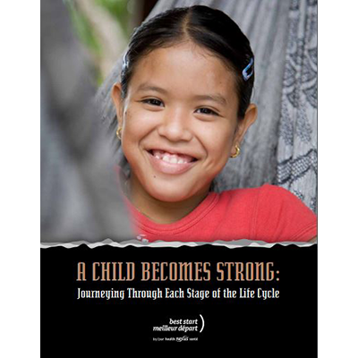Cover of the A Child Becomes Strong manual