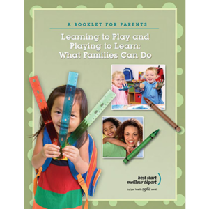 "Cover page of the ""Learning To Play"" booklet"
