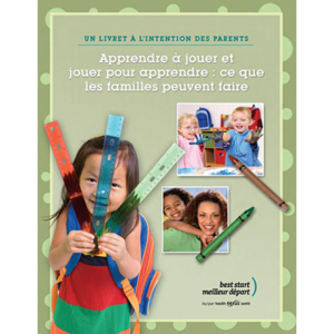 "Cover of the ""Apprendre à jouer..."" booklet"