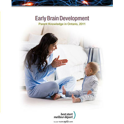 cover of the Brain development report