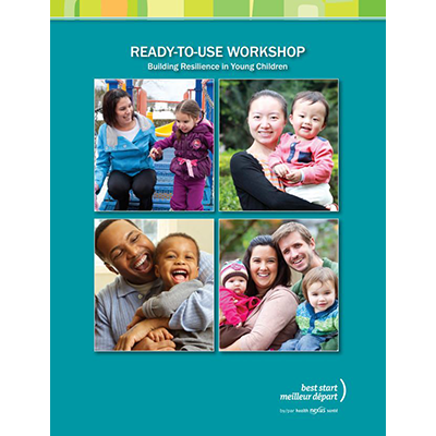 "Cover page of the ""Building Resilience"" ready-to-use workshop"