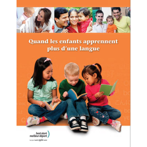 "Cover of the ""Quand les enfants parlent..."" booklet"