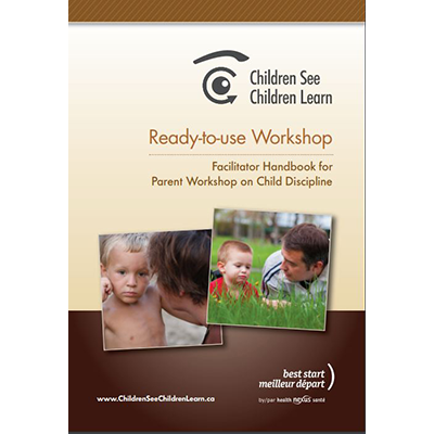 Cover of the Children See Children Learn facilitator guide