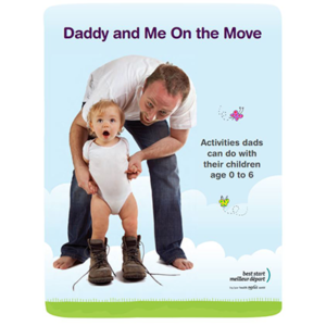 Cover of the Daddy and Me booklet
