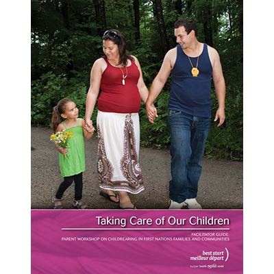 Cover of the Taking Care of Our Children manual