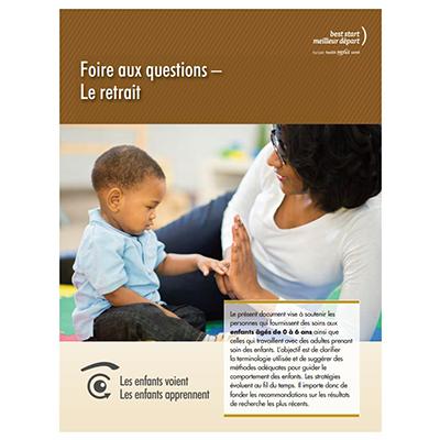 """Couverture du livret """"Foire aux questions: Le retrait"""""""