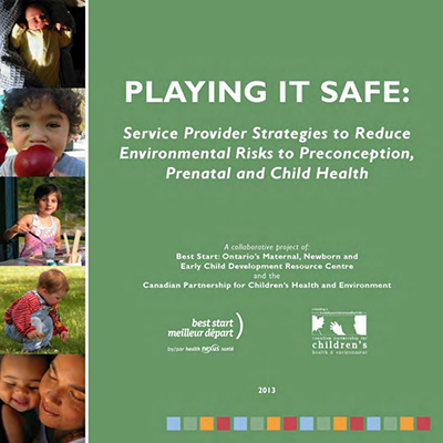 Cover of the Playing It Safe book