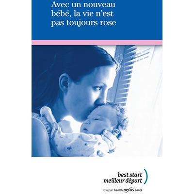 Couverture du livret La vie avec un bébé...