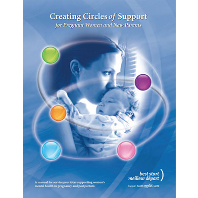 "Cover of the ""creating circle of support"" booklet"