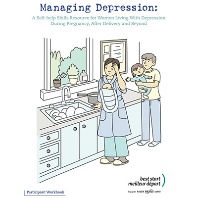 Cover page of the Depression workbook