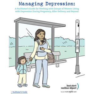 Cover of the Managing Depression facilitator guide