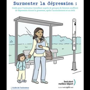 """Couverture du guide de l'animateur """"Surmonter la dépression"""""""