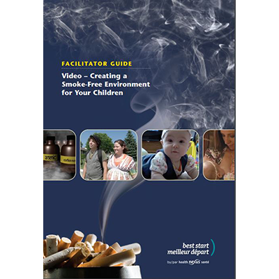 Cover of the DVD Jacket of the Video Creating a Smoke-Free Environment...