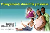 2 - Changements durant la grossesse