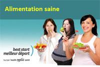 3 - Alimentation saine